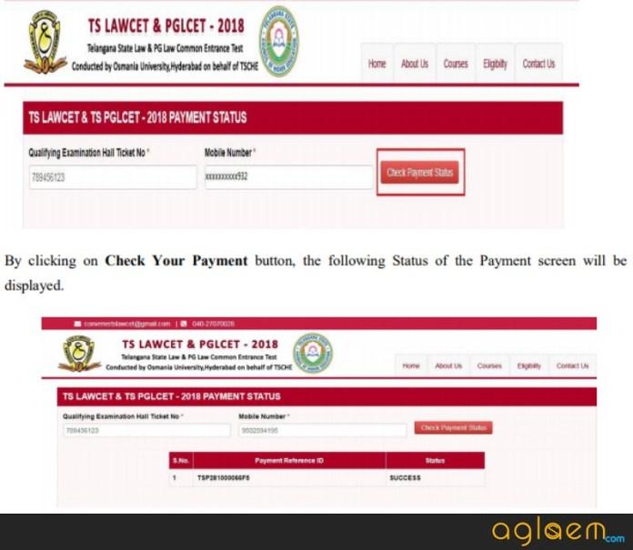 TS PGLCET 2019 Application Form  %Post Title | AglaSem