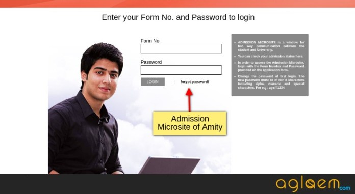 Amity JEE 2019 Application Form