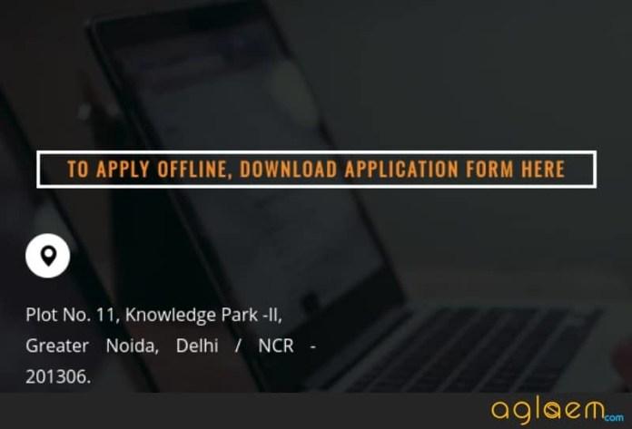 Application Form Lloyd Entrance Test (LET) 2019