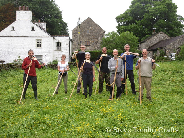 Learn to scythe course in Cumbria