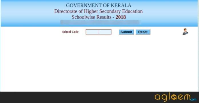 Kerala Plus one Result 2018 School Wise