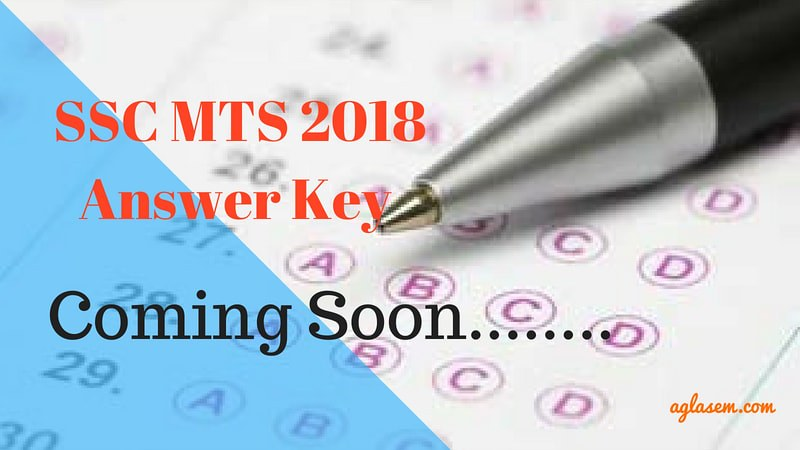 SSC MTS Answer Key Coming Soon