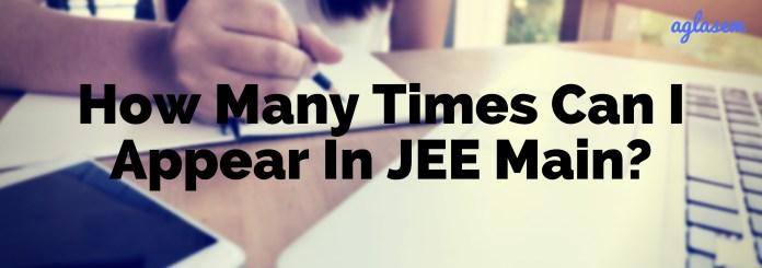 JEE Main April 2019 Eligibility