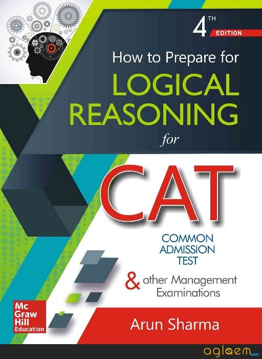 CAT logical reasoning preparation books