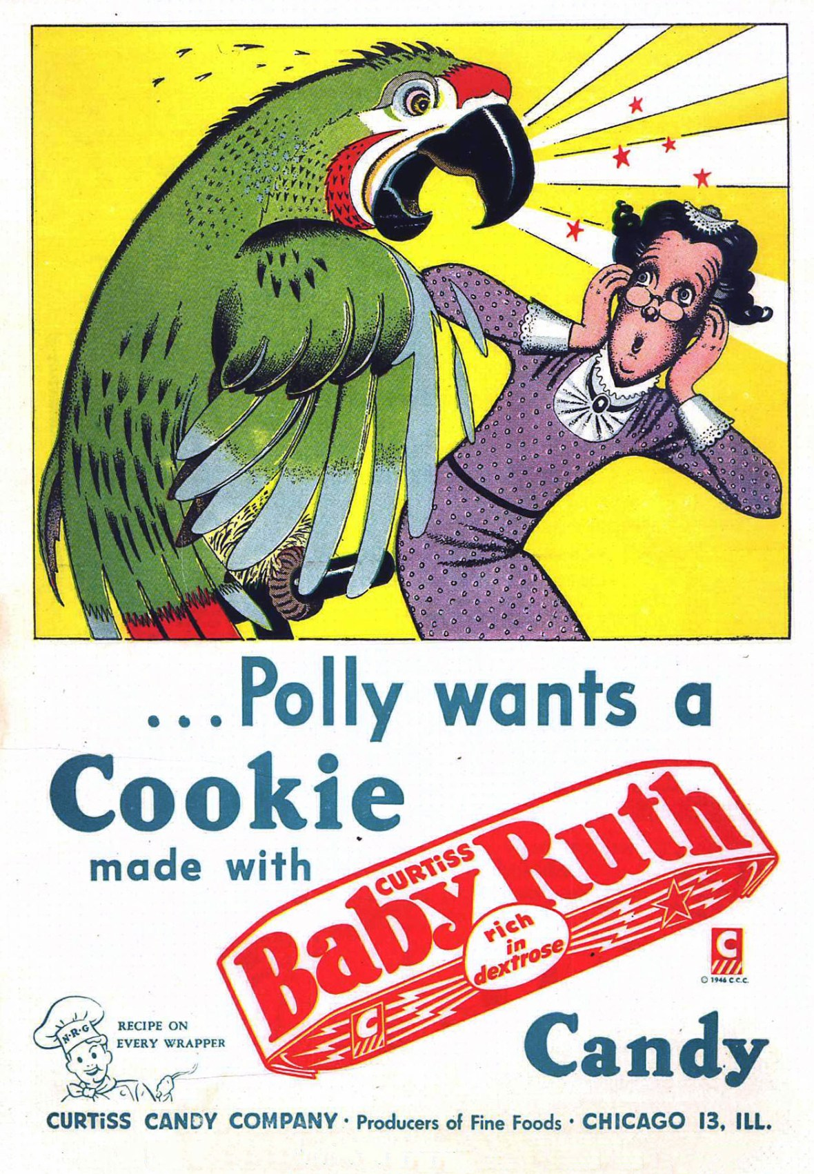 Curtiss Candy Company/Baby Ruth - 1946