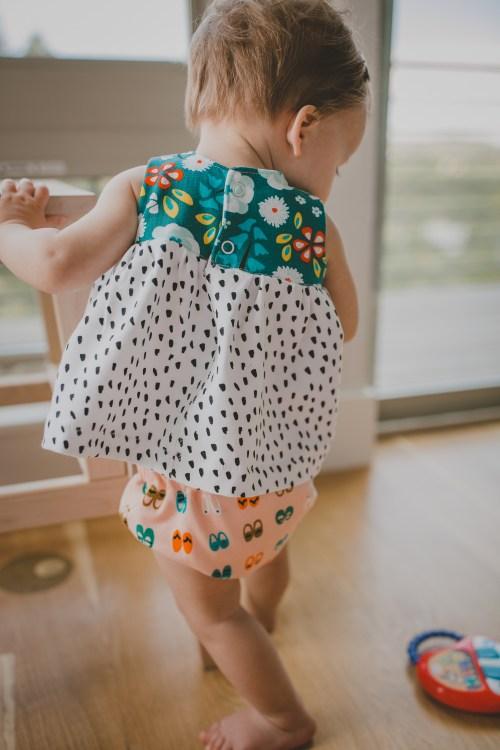 Knit Geranium Dress
