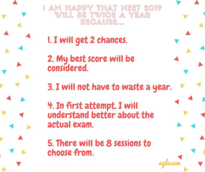 Pros and Cons of NEET 2019 Happening Twice A Year