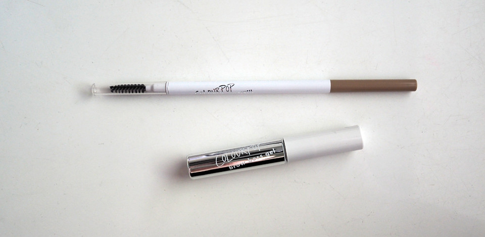 colourpop brow gel pencil blondie