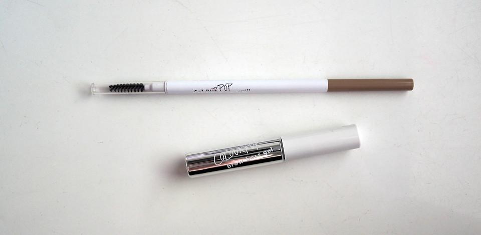 colourpop brow gel pencil blondie