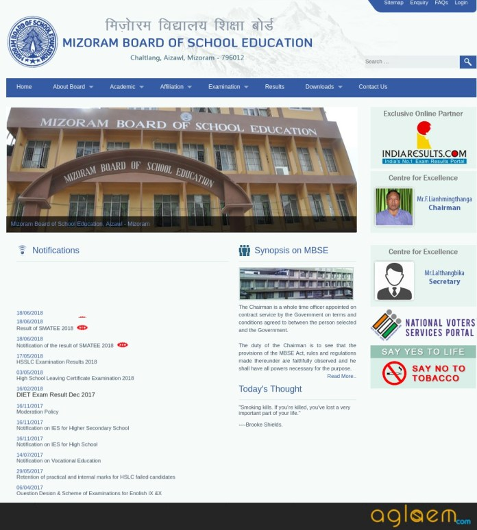 MBSE HSSLC Compartmental Result 2018