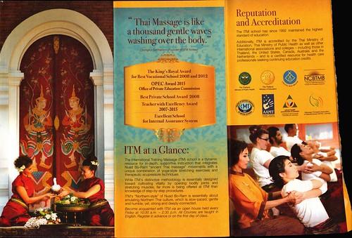 Brochure ITM International Training Massage School Chiang Mai Thailand 4
