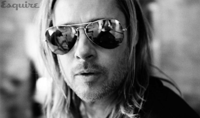 Brad Pitt © Esquire Magazine.
