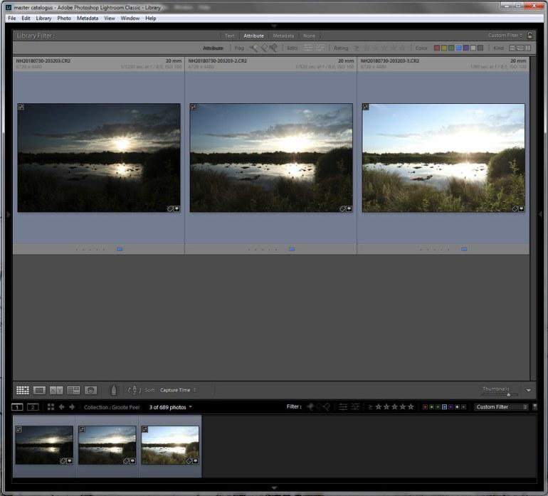HDR via Lightroom en Photoshop