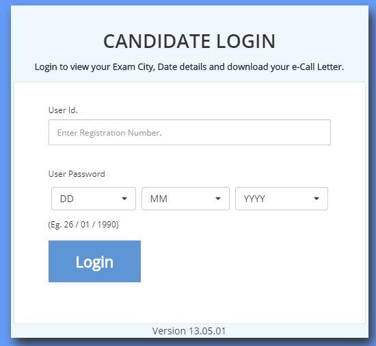 Railway Group D Admit Card Download Login
