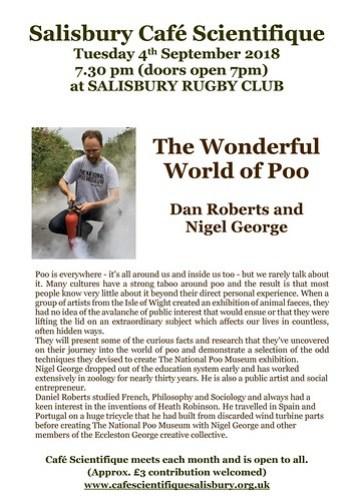 Poster for Dan Roberts and Nigel George