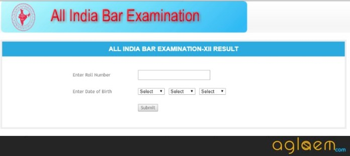 AIBE (12) 2018 Result Announced at allindiabarexam.co.in - Check Here  %Post Title | AglaSem