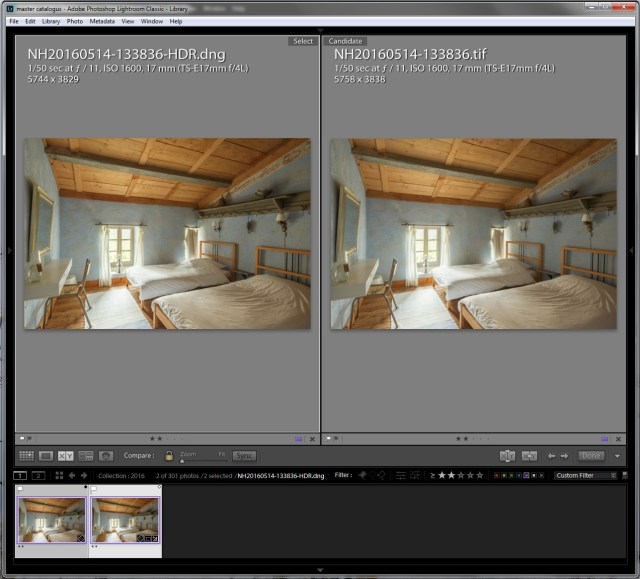 HDR in Lightroom versus Photoshop