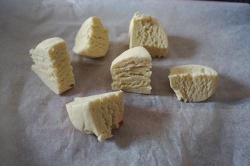 Mini gluten free strawberry rustic pies: making the pie dough