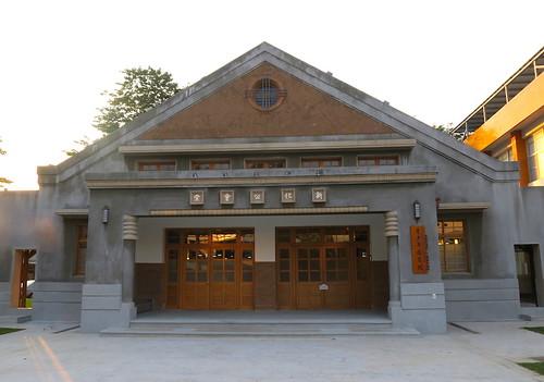 台南新化「青少年圖書館」(原:新化郡公會堂)