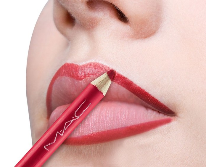 how to apply lipstick step by step pictures