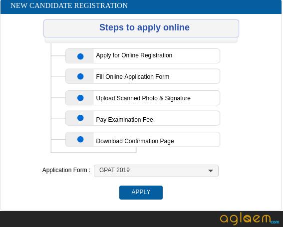 GPAT Registration