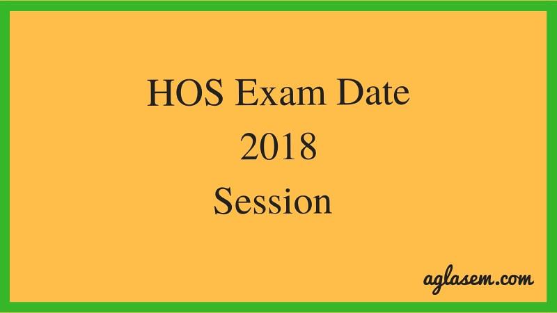 HOS Date Sheet 2018