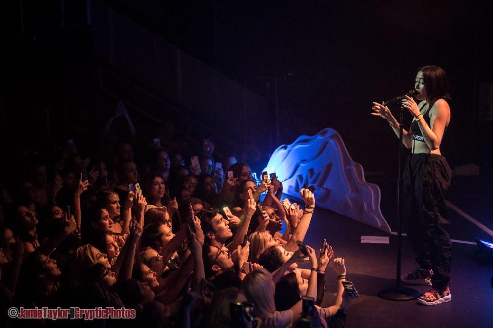 Singer Noah Cyrus performing at Venue Nightclub in Vancouver, BC on October 23rd 2018  © Jamie Taylor