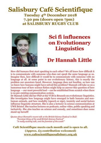 Poster for Dr. Hannah Little