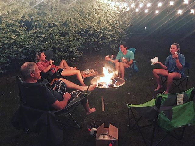 s'mores under the stars