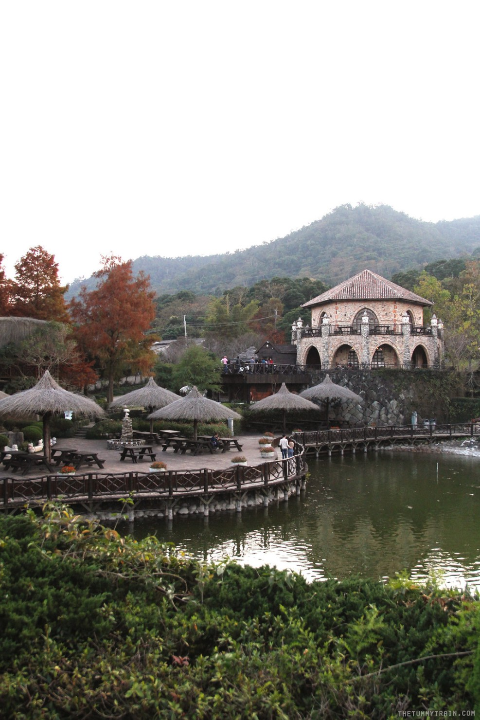 Taiwan Fall Winter 2017 Xinshe Castle At Taichung The Tummy Train