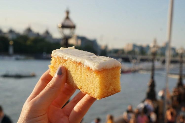 Gluten free lemon drizzle cake from Pret A Manger | My Gluten Free Islington Guide