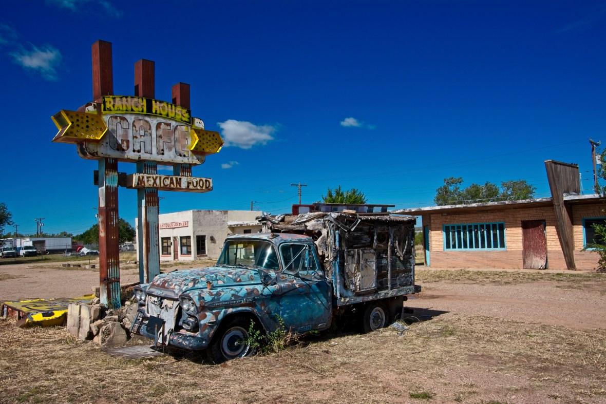 Ranch House Cafe - Tucumcari, New Mexico U.S.A. - October 13, 2018