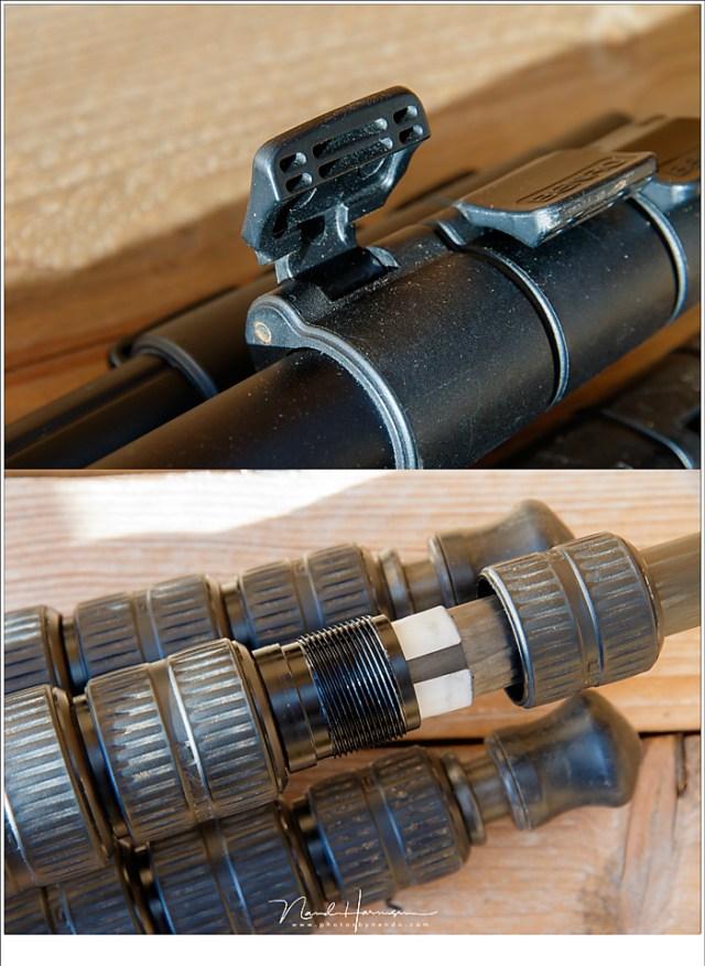 Draaikoppelingen zijn vaak makkelijker schoon te maken en houden dan de clips.