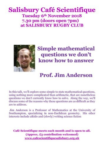 Poster for Prof. Jim Anderson