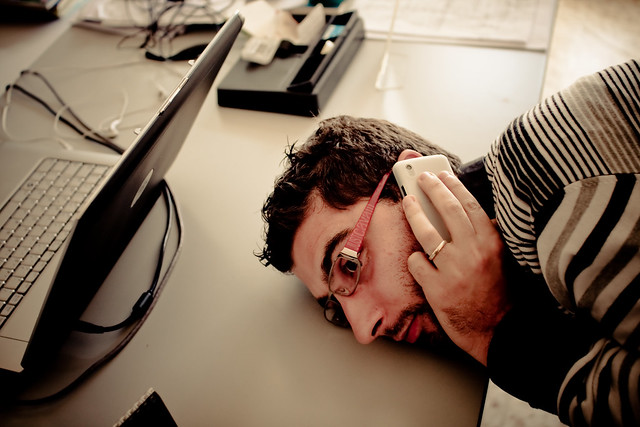 #9/365 Stress at work