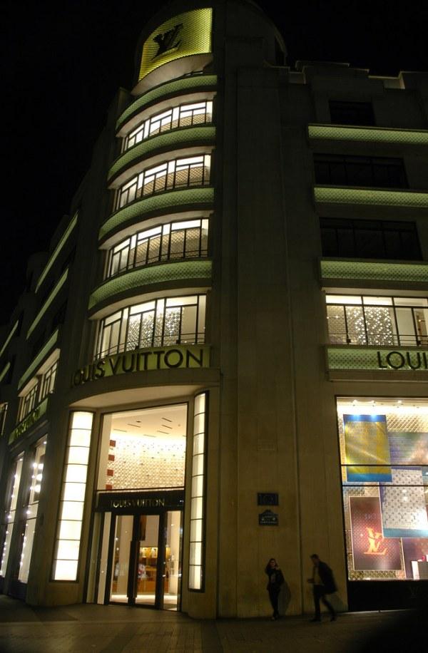 Louis Vuitton | Louis Vuitton's flagship store on the ...
