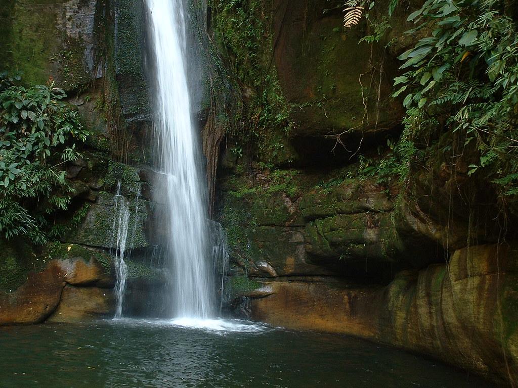 Tropical Waterfall Waterfalls Near The Quot La Honda Quot Dam S