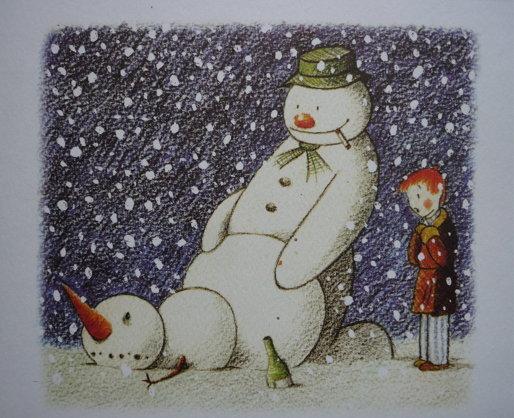HAPPY CHRISTMAS Christmas Card By Banksy Romany WG