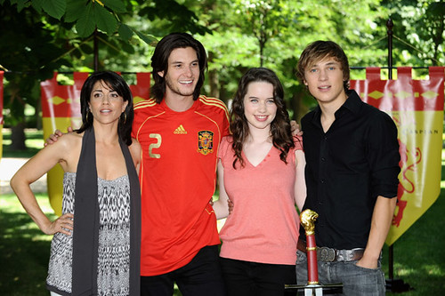 Ben Barnes With Costars William Moseley Anna Popplewell An