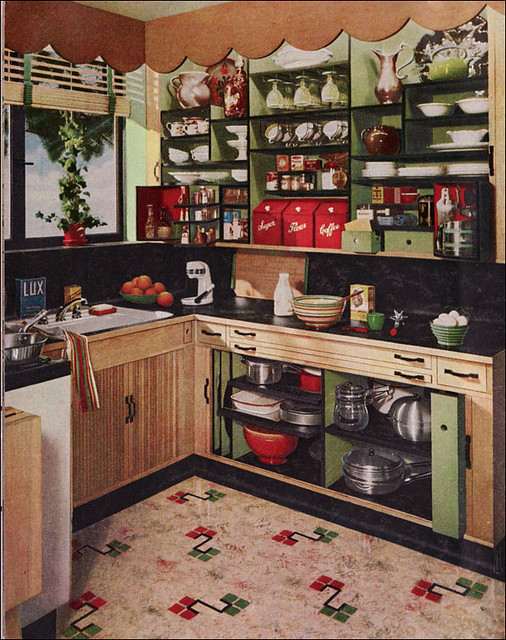 1948 Green Kitchen By Armstrong This Kitchen Design Was
