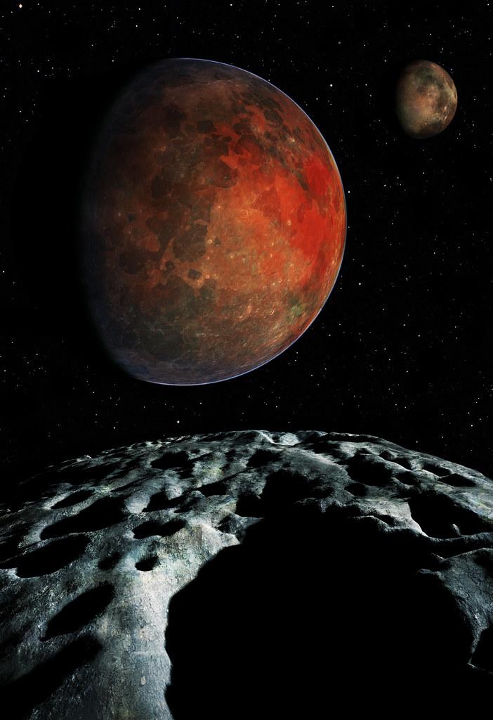 Pluto Charon From Hydra New Horizons Will Make The