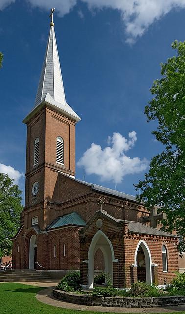 Saint John The Baptist Roman Catholic Church In Villa Rid
