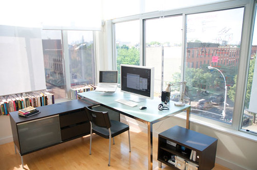 My Home Office In Brooklyn. At
