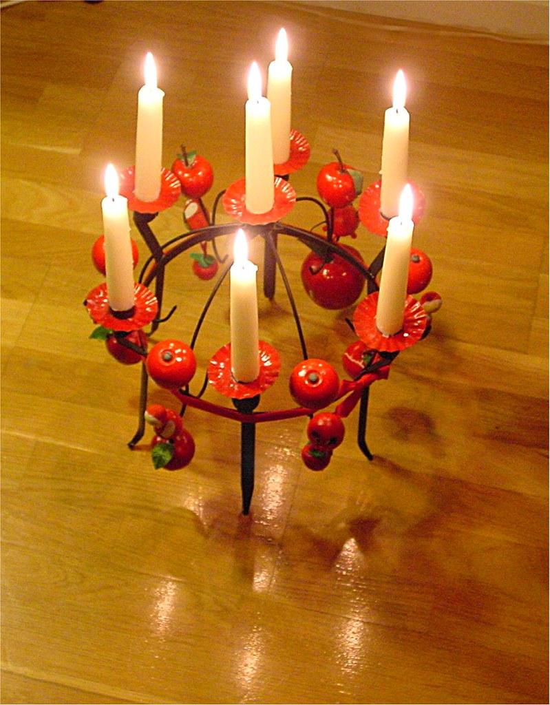 Candlestick Toarpskrona Unique For Sweden Christmas