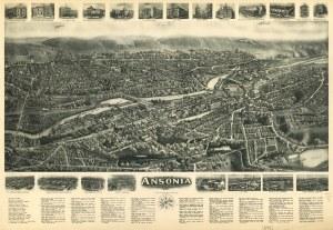 Aero view of Ansonia, Connecticut  Waterbury, Conn | Flickr