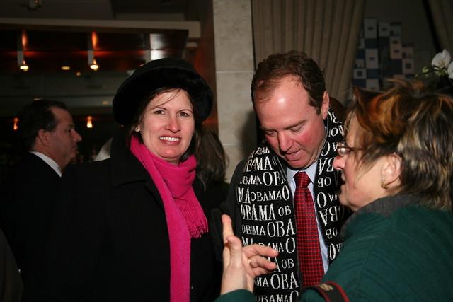 Congressman Adam and Eve Schiff, and Maria Karras ...
