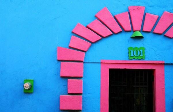 Casa a todo color - Santiago, México   Maison à tout ...