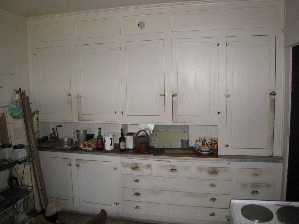 1918 Craftsman Bungalow Original Kitchen Cabinets Flickr