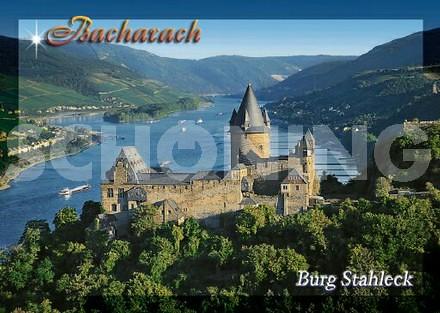 Stahleck Castle Bacharach Germany Stahleck Castle