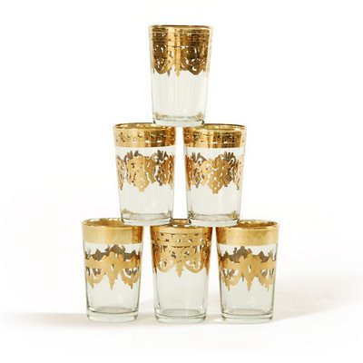 Wedding Decor Moroccan Tea Glasses Gold Stacked Z Flickr